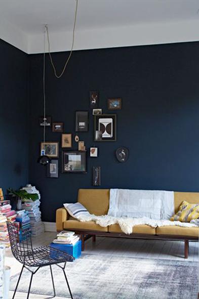 10 Inspirations Pour Salon Bleu Vallin Architecte